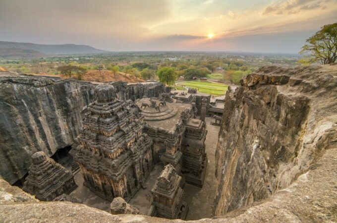 UNESCO World Heritage place (Ajanta and Ellora)